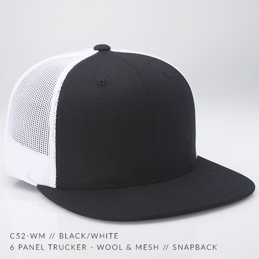 c52-WM // Black/White