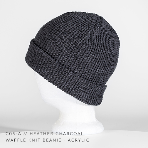 c05-A // HEATHER CHARCOAL