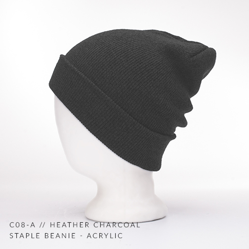 c08-A // HEATHER CHARCOAL