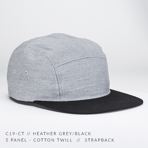c19-CT // HEATHER GREY/BLACK