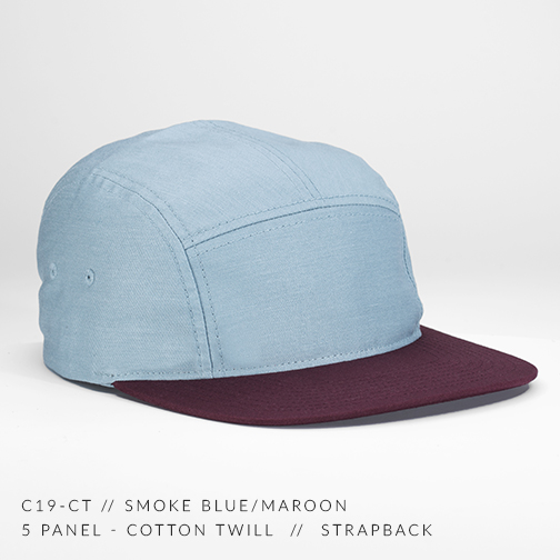 c19-CT // SMOKE BLUE-MAROON