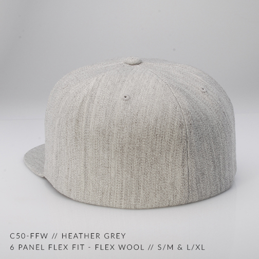 c50-FFW // HEATHER GREY BACK