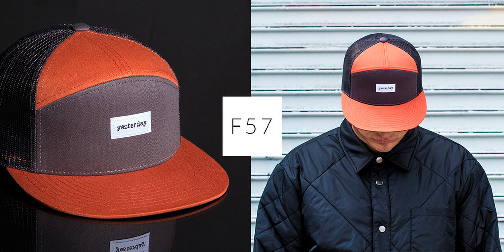 ed28e2d3f2a F57    Full Custom 7 Panel — CAPTUER HEADWEAR