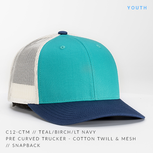 c12-CTM // TEAL/BIRCH/LT NAVY (YOUTH)