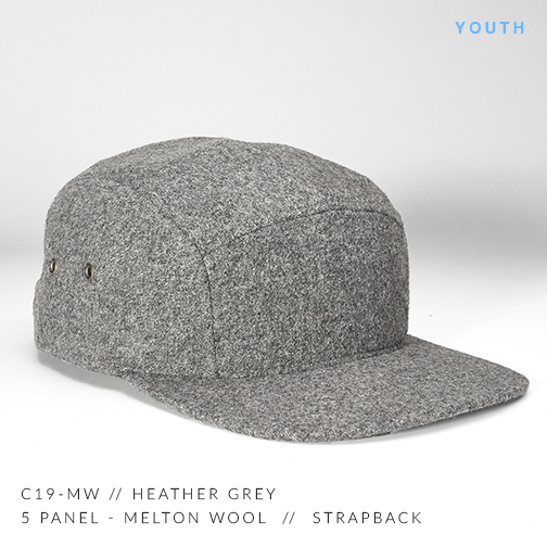 c19-MW // HEATHER GREY (YOUTH)
