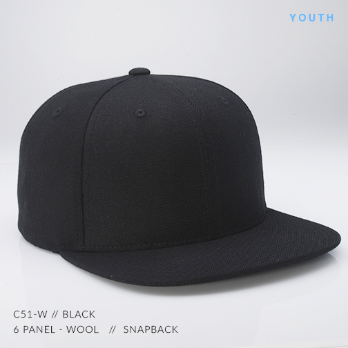 c51-W // BLACK (YOUTH)
