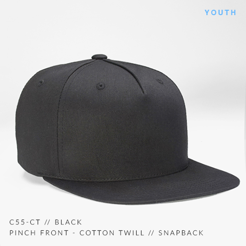 c55-CT // BLACK (YOUTH)