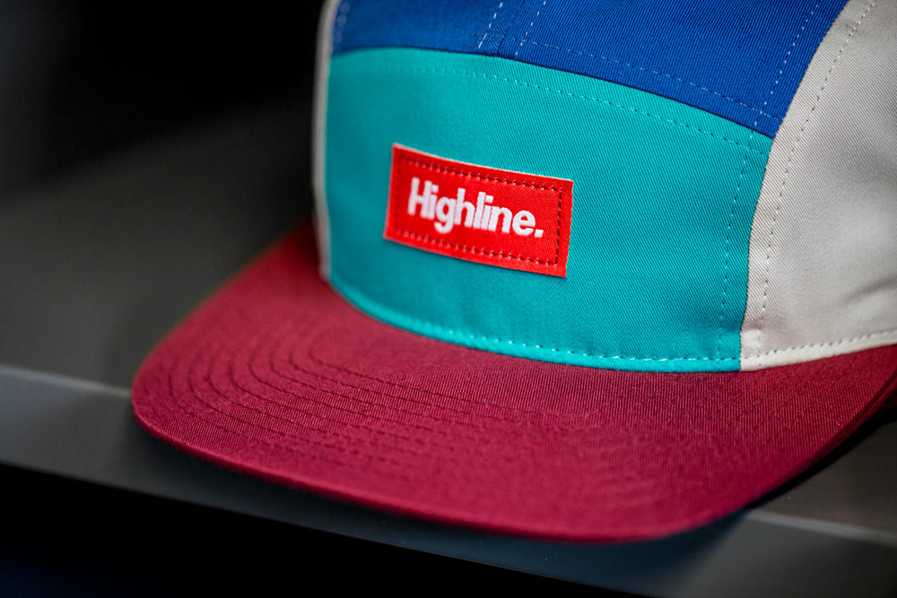C19-CT // Custom 5 Panel Camp Hat - Highline // Strapback