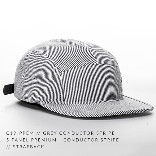 C19-PREM // GREY CONDUCTOR STRIPE