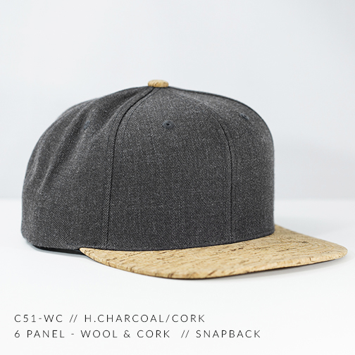 C51-CORK // HEATHER CHARCOAL / CORK