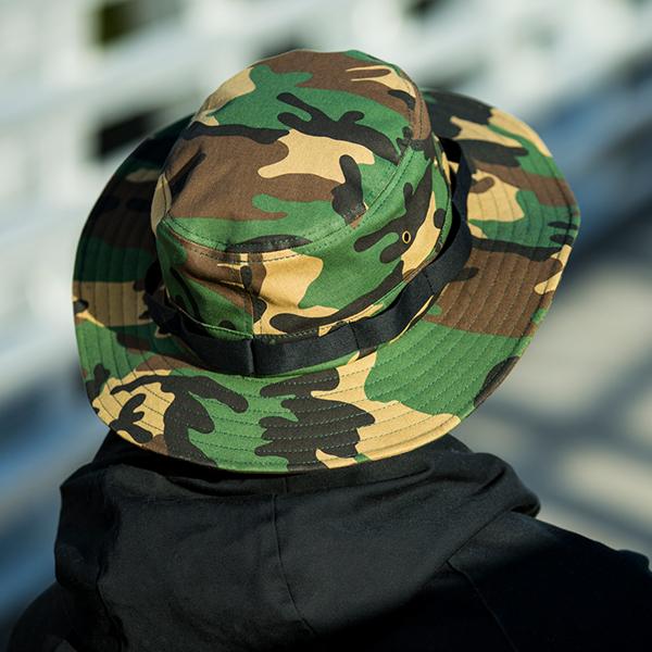 f108e750475 c72-CT    Boonie Hat - Cotton Twill    Full Brim