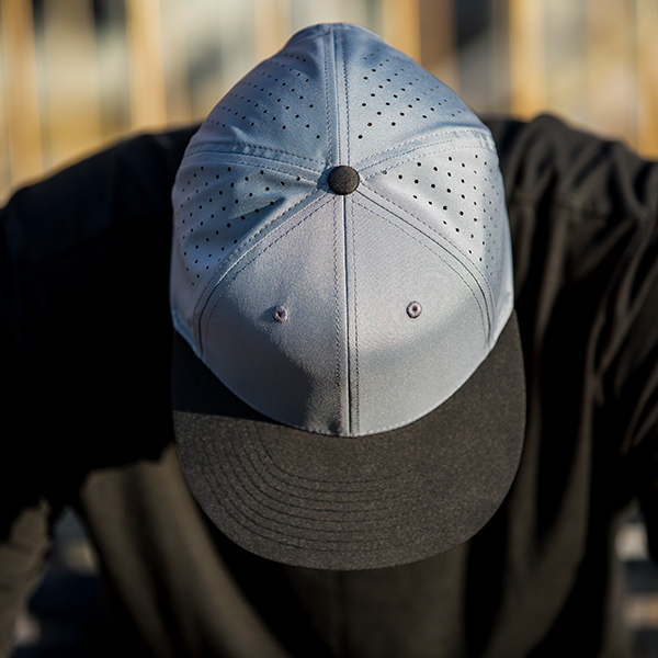 730f332f69d c51-PERF    6 Panel - Perforated Performance    Custom Snapback