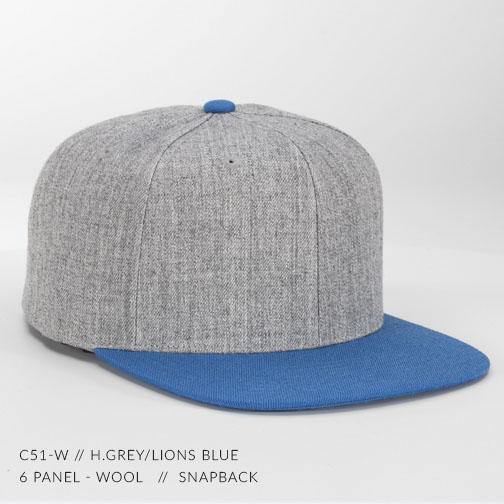 c51-W // H.Grey/Lions Blue