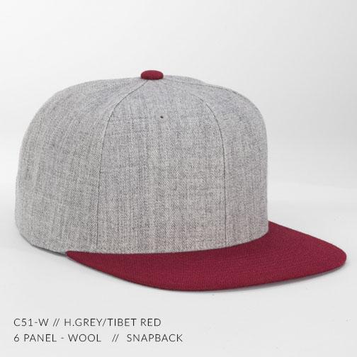 c51-W // H.Grey/Tibet Red