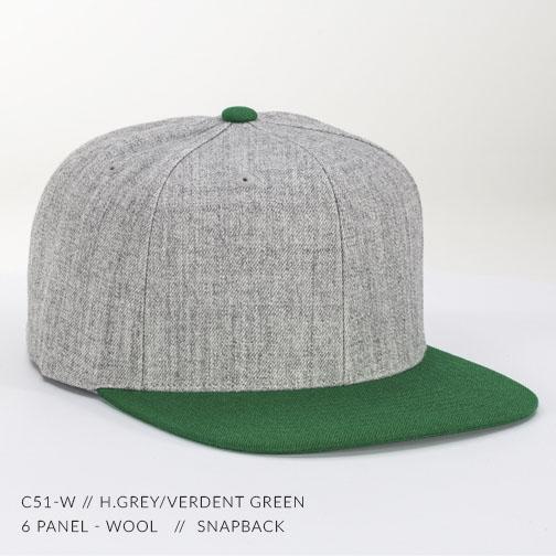 c51-W // H.Grey/Verdent Green