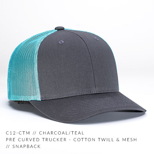 c12-CTM // Charcoal/Teal