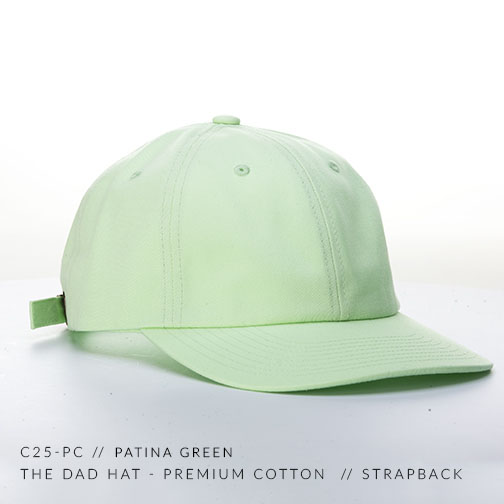 C25-PC // PATINA GREEN