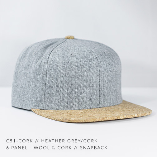 C51-CORK // HEATHER GREY / CORK