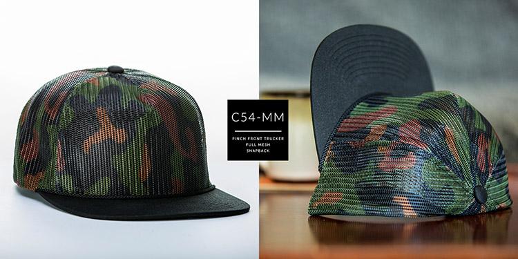 C54-MM  //  ALL MESH PINCH FRONT TRUCKER  //  SNAPBACK
