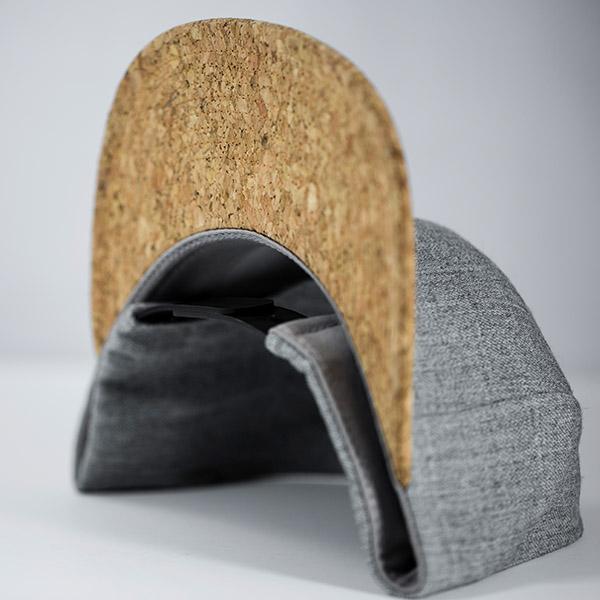 287d5e8703f c51-CORK    6 Panel - Wool   Cork    Custom Snapback