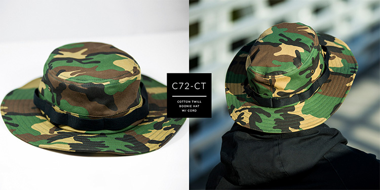 C72-CT // BOONIE HAT - COTTON TWILL