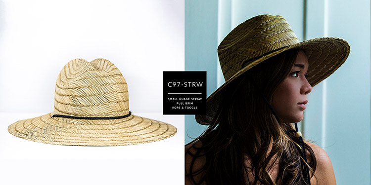 c97-STRW // SMALL GAUGE STRAW - FULL BRIM