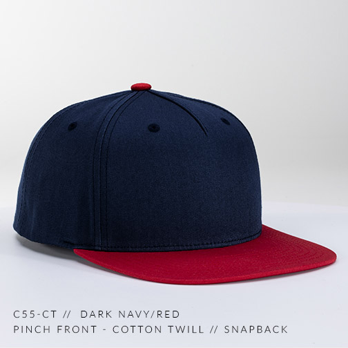 C55-CT // Dark Navy/Red