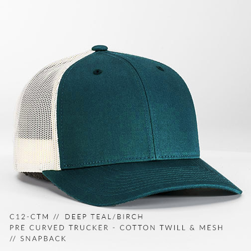 c12-CTM // Deep Teal/Birch