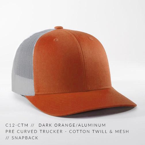 c12-CTM // Dark Orange/Aluminum