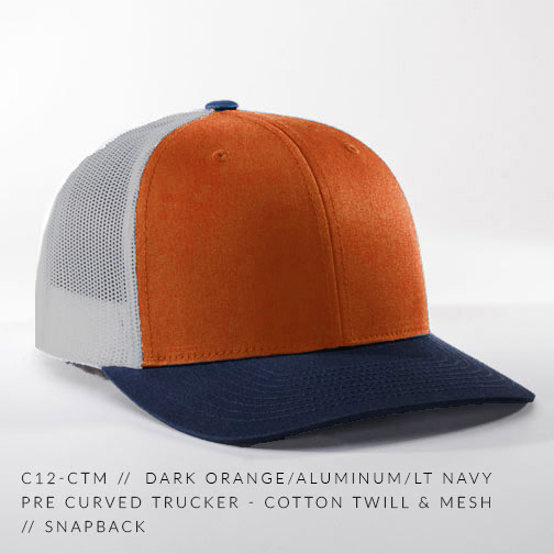 c12-CTM // Dark Orange/Aluminum/Lt Navy