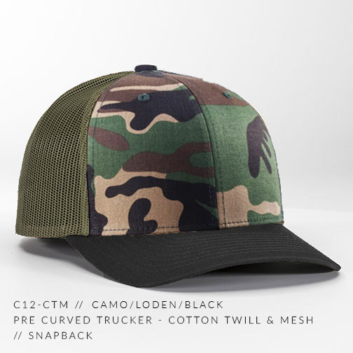 c12-CTM // Camo/Loden/Black