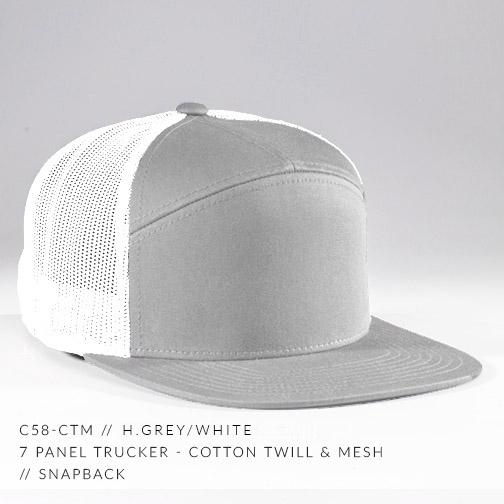 c58-CTM // H.GREY / WHITE