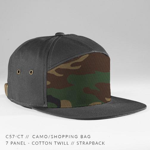 c57-CT // CAMO/SHOPPING BAG