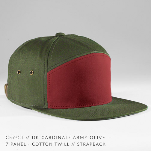 c57-CT // DK CARDINAL / ARMY OLIVE