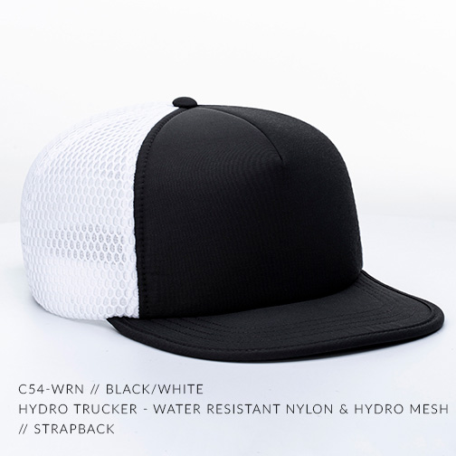 C54-WRN // BLACK/WHITE