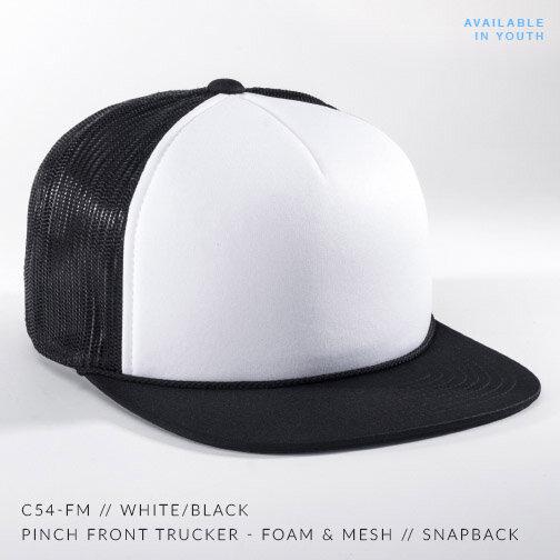 C54-FM // White/Black