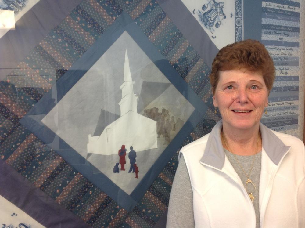 Clerk of Consistory, Sharon Groat  Organizer Extraodinairre / Bereavement