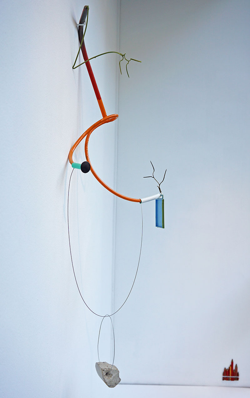 © Johan Gelper - 'Constellation with borrowed formes'