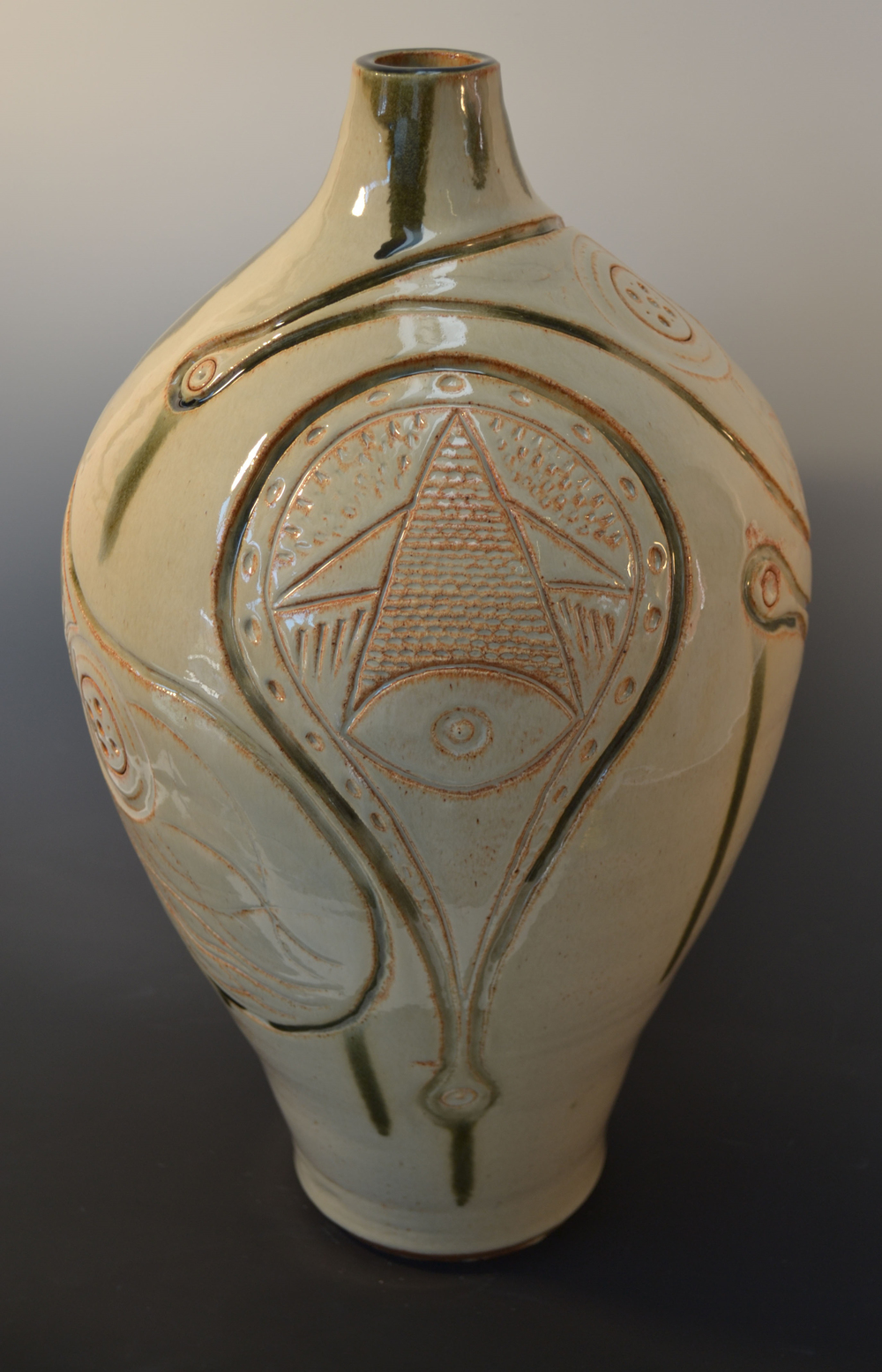 All Seeing (stoneware)