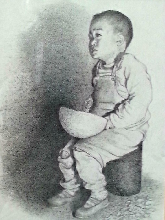 Kathleen Bogan: Boy with Bowl