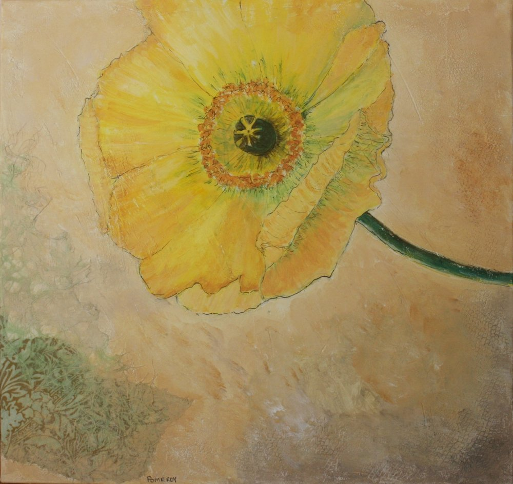 Jan Pomeroy: Yellow Poppy