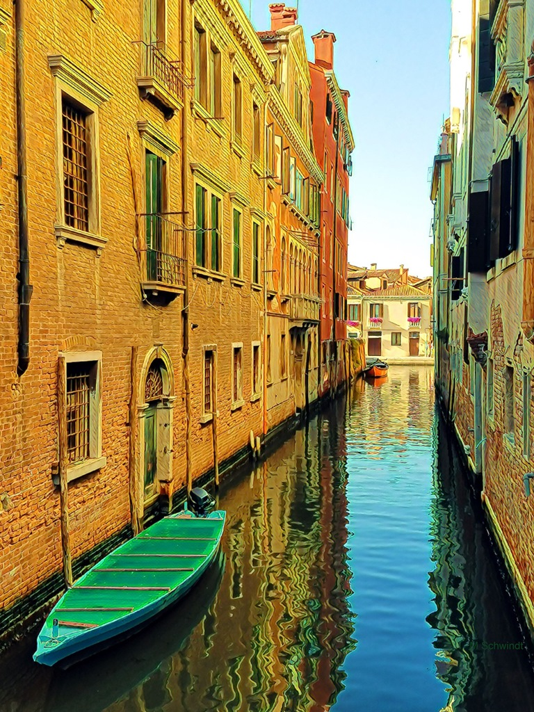 Mary Schwindt: Venice Reflections