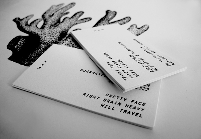 Some new cards designed by Teresa N. Yang & Sohail printed by me…