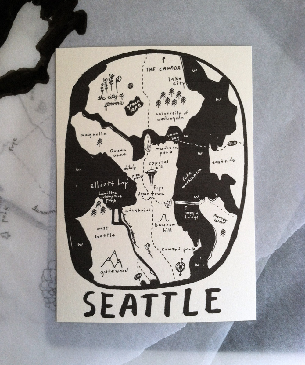 Seattle the city, draft 1