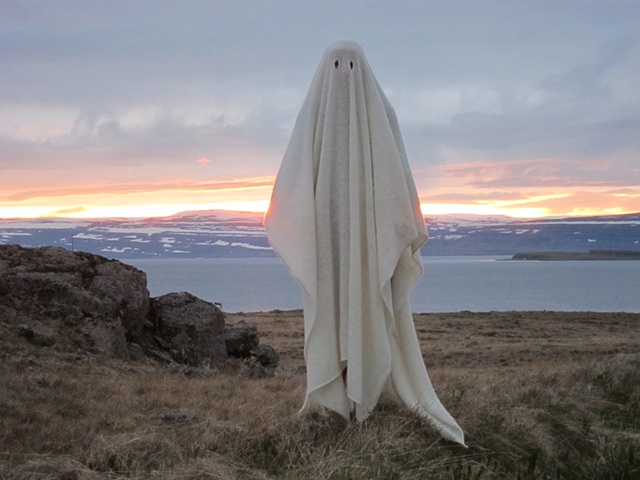 "Katie Bethune-Leamen http://katiebethuneleamen.com/ Icelandic Wool Ghost Blanket, Reykjanes 2011 custom-made icelandic wool blanket 140"" x 55"" x 0.25"""