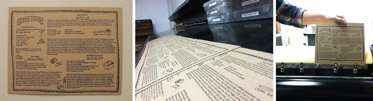 Forage Kitchen Prints hot off the press…