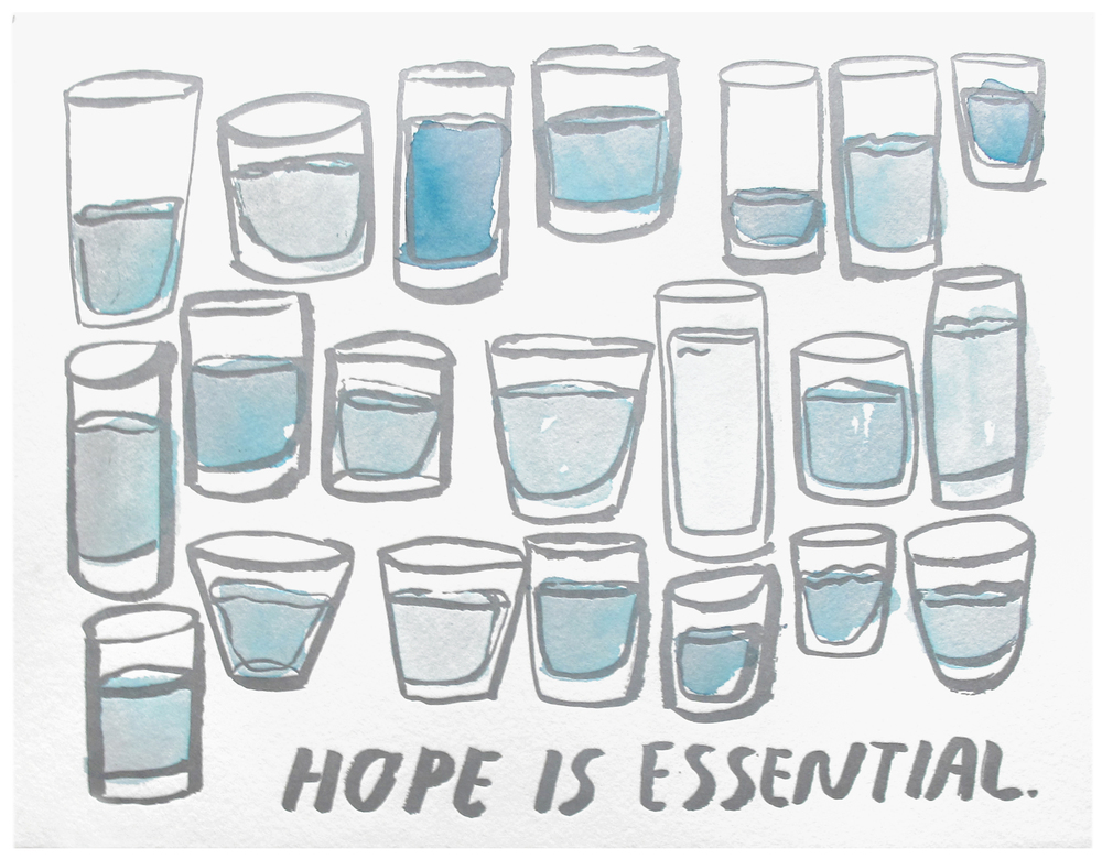 Hope Is Essential Print