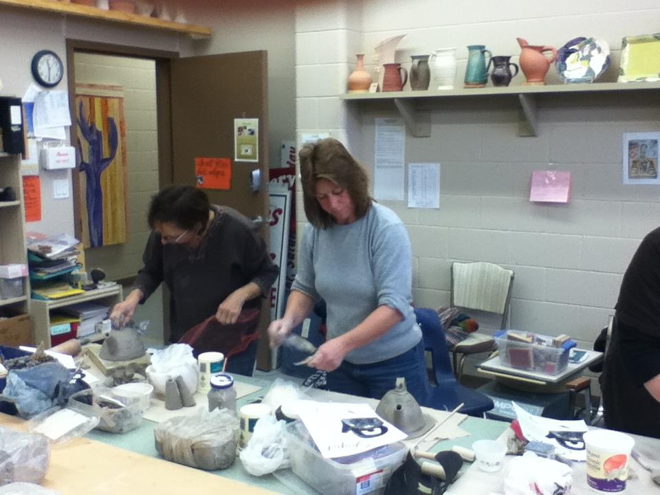 30 minute teapot workshop Jan 2014