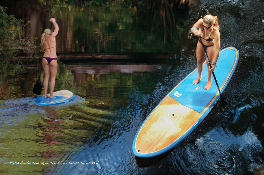 2014 Riviera Sup Series From Flatwater To Surf Boarders