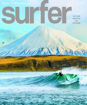 Cover shot by: Chris Burkard | Surfer: Josh Mulcoy